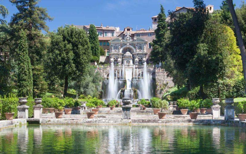 Villa Adriana And Villa Deste